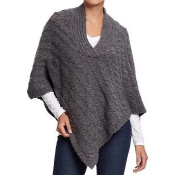 Old Navy Jackets & Blazers - Old Navy Cable Knit Poncho